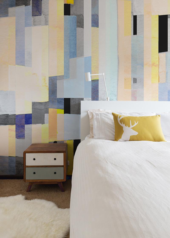 Papiers peints panoramiques Watercolor 02