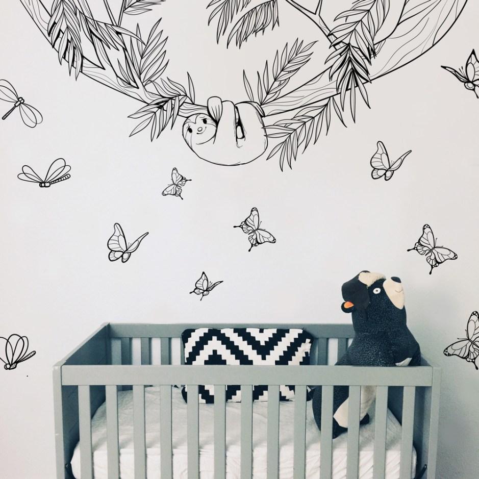 Stickers muraux Jungle - Design Emmanuelle Colin