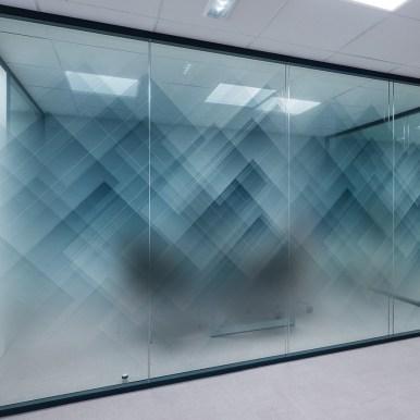 Film décoratif pour vitrage Glass Deco - Geometric 01