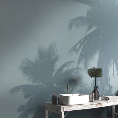 Papiers peints panoramiques Palmiers