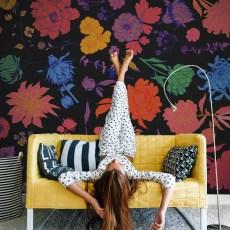 Frida - Papier Peint panoramique - Design Anne Cresci