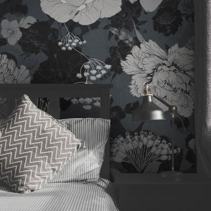 Louise - Papier Peint panoramique - Design Anne Cresci