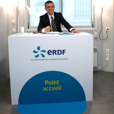 ERDF / Point info - Bordeaux / MJ Studio