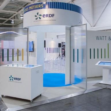 ERDF / Stand Carrefour des métiers - Salon des assises de l'Energie, Bordeaux