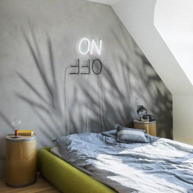 Papier peint panoramique Concrete Bamboo