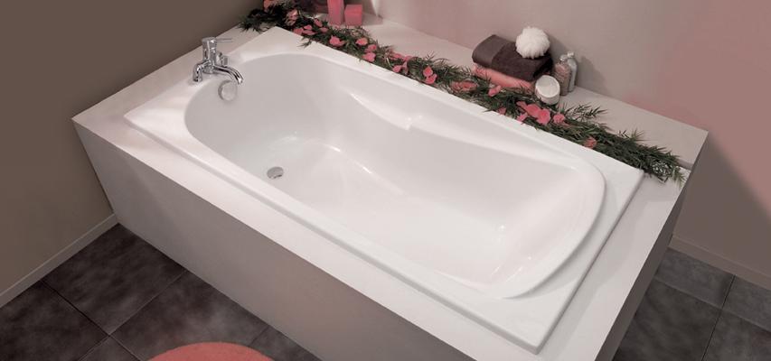 baignoire rectangulaire orane