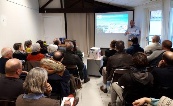 Photo réunion cyclo et tourisme adapté 20 février 2018