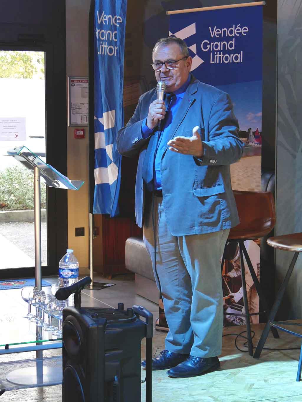 Christian Aimé président de l'Office de Tourisme Destination Vendée Grand Littoral