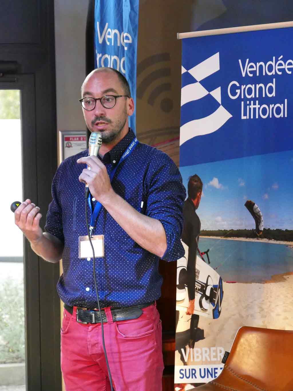 Julien Vrignon directeur de l'Office de Tourisme