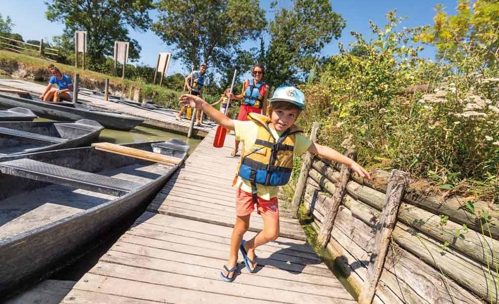Sites touristiques visites avec des enfants