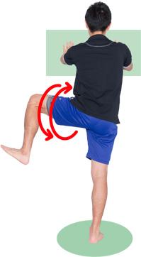 「股関節回し」の画像検索結果