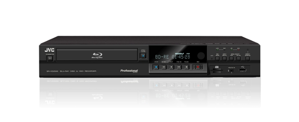 New JVC Blu-ray/Hard Drive Combo Deck Allows Direct Recording of Live Signal to Blu-ray Disc | JVC Consumer Press Releases