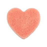 Konjac Spons Pink Clay hart