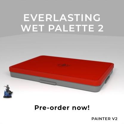 Everlasting Wet Palette Painter v2