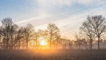 Image: Spring sunrise captured by Jan Ubels, Creative Commons
