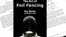 Art of Foil Fencing 2nd Ed cover and pages