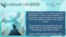 Attending QuaranCon 2021