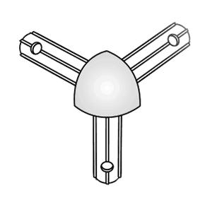 Prezentační systém Rohová hlavice 10-08-610