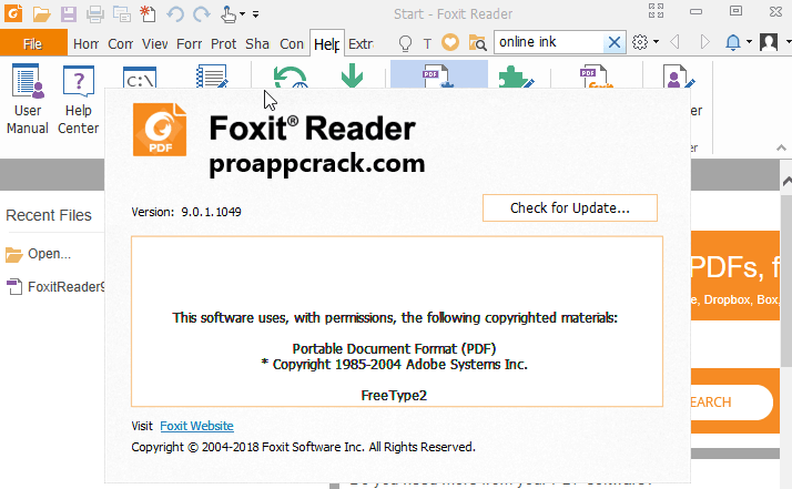 Foxit Reader Premium Key