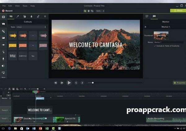 Camtasia Studio 2021 Cracked