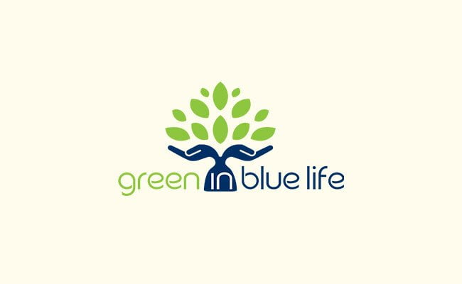 Green in Blue Life