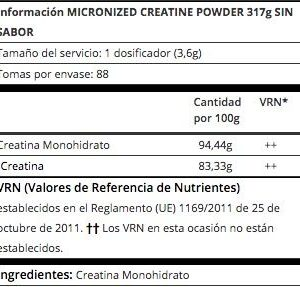 optimun-nutrition-creatina-informacion-nutricional