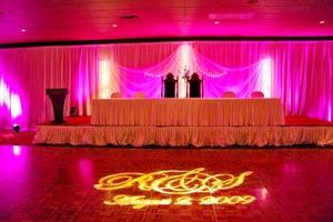 Event – weddings (floor initials)
