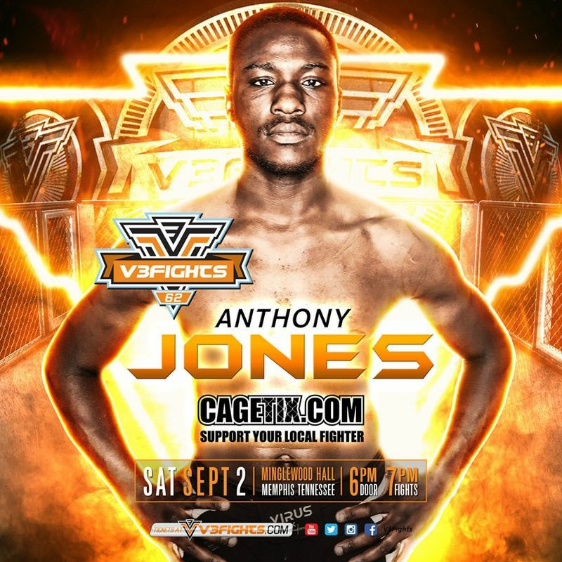 Anthony Jones MMA & Pro AV Jackson