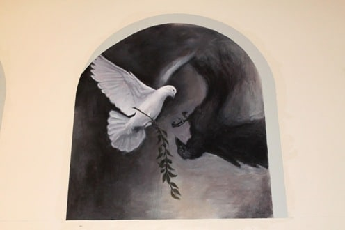 The White Dove and the dark Raven