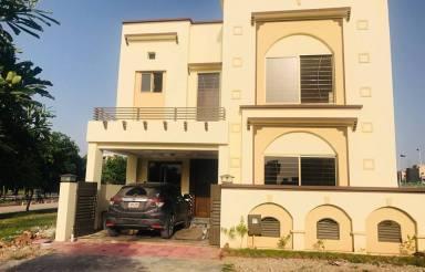 Usman Block 7 Marla House For Sale