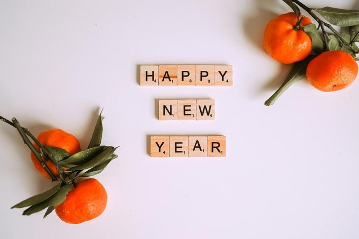 happy new year wishing sms