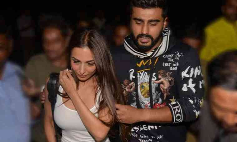 Bollywood actress malaika arora and arjun kapoor
