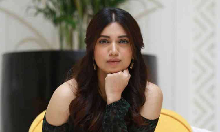 Indian film actress Bhumi Pednekar