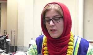 'বাংলাদেশ আমার দ্বিতীয় দেশ' ইরানের নারী চলচ্চিত্র নির্মাতা জহরেহ জামানি।