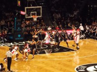 Nets vs Wizards at Barclays Center 2012