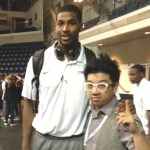 Tristan Thompson with MoVernie