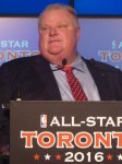 Mayor Rob Ford at Podium