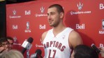 Jonas Valanciunas in scrum