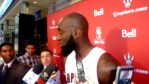 Quincy Acy in scrum