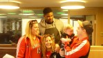 Amir Johnson & RMHH guests 2