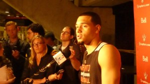 Tyler Ennis media scrum 3