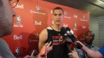 Dwight Powell scrum