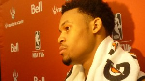 K.J. McDaniels close up
