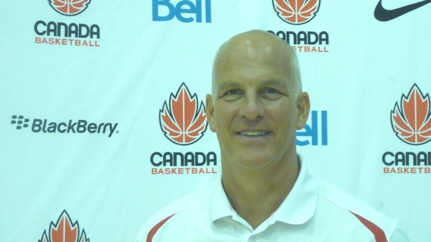 Head Coach Jay Triano close up