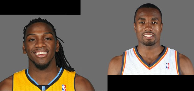 Faried and Ibaka