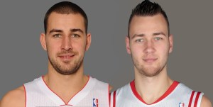 Valanciunas and Motiejunas