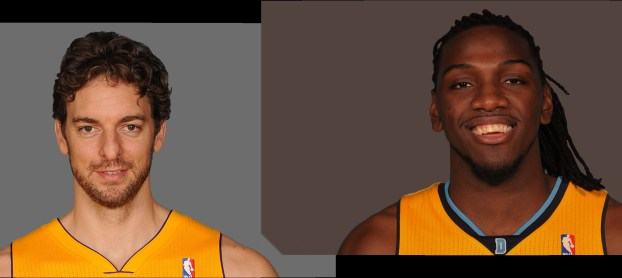 Pau Gasol and Faried