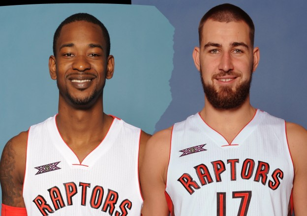 TOR Ross and Valanciunas