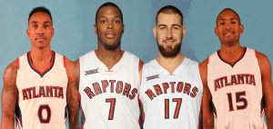 Teague Lowry Valanciunas Horford