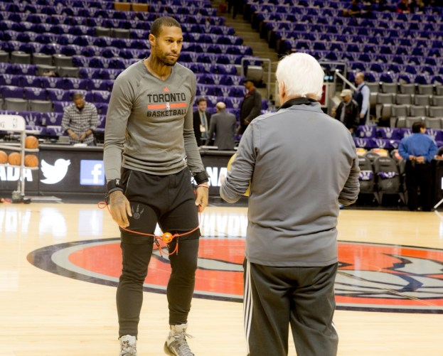 NBA Toronto Raptors James Johnson